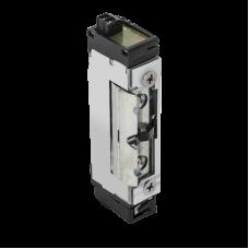 DORCAS-99NF305-412-PRE Keskeny, alacsony, pajzs nélküli elektromos zárfogadó