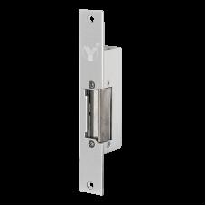 YS-131NO Rövid előlapos elektromos zár, feszültségre nyitó - fail-secure (munkaáramú)