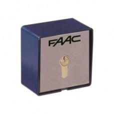 FAAC Kulcsos kapcsoló, egy állású