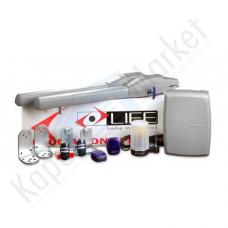 LIFE SETUP OP2 24 UNI DL kétszárnyú kapunyitó automatika szett