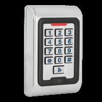 SK-8EM-W Önálló működésű, vandálbiztos, vízálló kártyaolvasó és kódzár RFID-s proximity koronggal