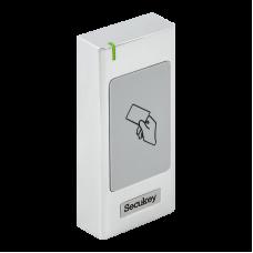 S6-EM Cseppálló (IP66) önálló működésű kártyaolvasó vandálbiztos fém házban