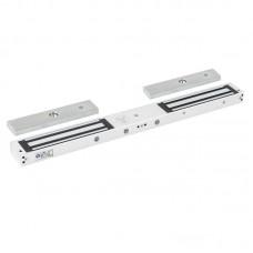 YM-280ND(LED) Felületre szerelhető dupla síkmágnes LED-del - 2x280kg