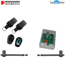 PROTECO LEADER3-H-MS kétszárnyú kapunyitó automatika szett