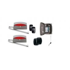 LIFE SETUP SINUO 5 csuklókaros kétszárnyú kapunyitó automatika szett