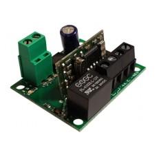TRX1 TECNO 1 csatornás öntanulós fixkódos rádióvevő