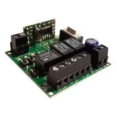 TRX3/12V TECNO 3 csatornás öntanulós ugrókódos rádióvevő
