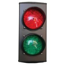 Forgalomirányító lámpa piros és zöld, 230 V
