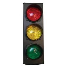 Forgalomirányító lámpa piros sárga és zöld, 230 V